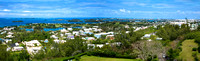 Panoramic of Bermuda
